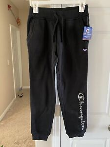 Champions Youth Black Joggers Size Large