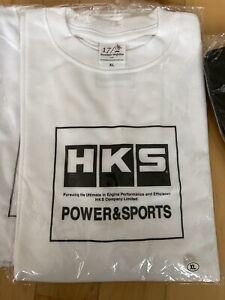 HKS T SHIRT - White XL Men's