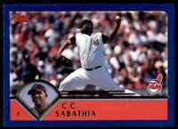 2017 Topps Update Untouchables #U-7 CC Sabathia Cleveland Indians Baseball Card