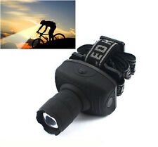 600 lumen Zoomable torch for bikes  Headlight  led Bright light torch headlamp