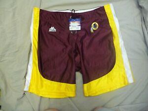 Vintage 90's Majestic Washington Redskins Training Camp Shorts Lace Up Mens XL