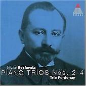"CD TELDEC 8573-82017-2 Nikolai Roslavets ""Piano Trios Nos. 2-4"" - Trio Fontenay"