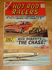 HOT ROD RACERS Comic - Vol 1 - No 12 - Date 01/1967 - US Paper Comic