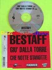 CD Singolo BESTAFF Giù dalla torre che notte stanotte 1993 BMG  mc dvd (S11)