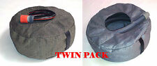 TWIN PACK # 1 -Handy HOSE & SULLAGE Hose Holder Storage Bag