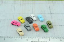10 Volkswagen Beetle Cars 1:160  N Scale (N74)
