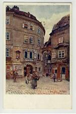 AK Wien I, Griechengasse, Künst. Czech E., 1911