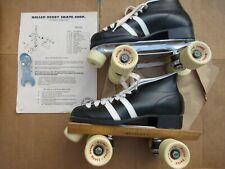 Vintage 80s ROLLER DERBY Speed Devil racing skates men's size 7  U104-33  w/key