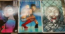 3 Books :Very RARE DK III #4  1:500 Jim lee, Frank Miller1:100 +Pope 1:50 NM 9.6