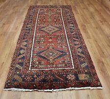 Traditional Vintage Wool 262 x 110cm Oriental Rug Handmade Carpet Rugs