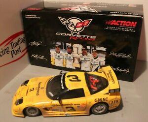 2001 Earnhardt Sr./Jr./Pilgrim Goodwrench Raced Corvette 1/18 Action Diecast
