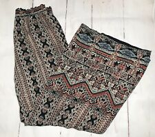 Angie Women's Boho Lighweight Pants Size M