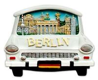 Berlin Magnet Stadt Collage mit Trabant Trabi Poly Souvenir Germany