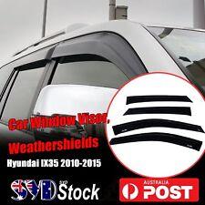 Premium Weather Shields Window Visors Weathershields Fit Hyundai IX35 2010-2015