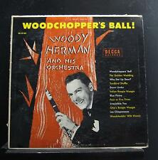 Woody Herman - Woodchopper's Ball LP VG+ DL 8133 Mono 1st 1955 Vinyl Record