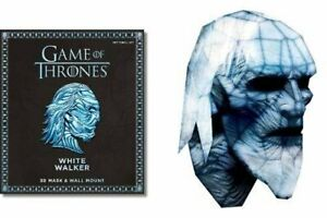 Game of Thrones - White Walker - 3D Mask and Wall Mount *FREE P&P*