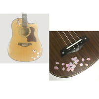 2x Inlay Decals Sticker for Acoustic Electric Guitar Bass Ukulele Parts