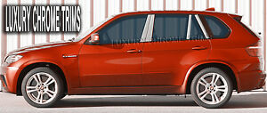 BMW X5 E70 Acier Inoxydable Chrome Pilier Poteau Par Luxury Trims 2007-2013 (