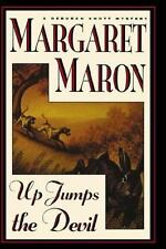 UP JUMPS THE DEVIL Margaret Maron 1st Edition 1996 Mystery Hardcover & Jacket