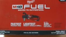 MILWAUKEE M18 FUEL DRIVEN TO OUTPERFORM HOLE HAWG RIGHT ANGLE DRILL