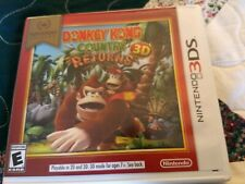 Donkey Kong Country Returns 3D ~ Nintendo 3DS ~ Complete w/ game, manual & case