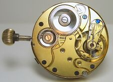 Very nice Pocket watch movement hands and dial stem at three o'clock