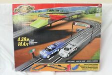 Fast Lane Speed Chaser Road Racing Set (14.4 ft/4.39 m) Track Set In Boxed