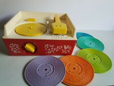 Fisher Price Music Box Record Player Toy 1971  Vintage