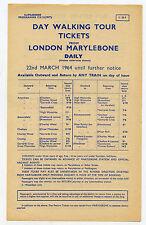 Europe Collectable Railway Handbills