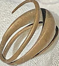 Ethnographic Primitive Ring Money, Coil Currency Antique Ancient Barter & Trade