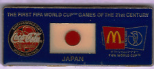 FIFA WORLD CUP GOLD PIN~JAPAN~COKE & MACKERS~YOU'RE BUYING ITEM IN MAIN PIC