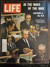 Life Magazine In The Wake of the War Kosygin at UN Gromyko June 1967