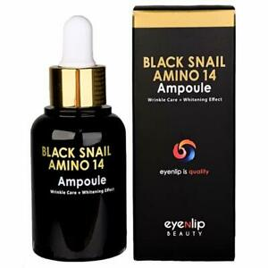 Eyenlip Black Snail Amino 14 Ampoule 30ml, Serum Slime From
