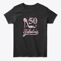 50 And Fabulous Years Old 1968 50th Gildan Women's Tee T-Shirt