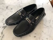 New Prada Black Italian Leather Loafer Size 6 US D