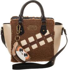 "Licensed Star Wars The Last Jedi ""CHEWIE & PORG"" Mini Brief Cross Body Handbag"