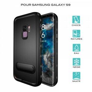 Case Waterproof For Samsung Galaxy S9 IN Black