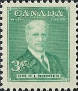 Canada   # 303    SIR ROBERT BORDEN    Brand New 1951 Pristine Original Gum