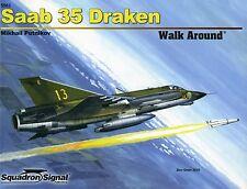 Squadron/Signal Walk Around 5562 - Saab 35 Draken - NEW