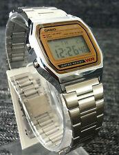 Casio  AUTHENTIC GOLD & SILVER  retro watch vintage orologio montre NEW SEASON