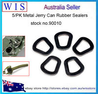 PACK of 5 Metal Jerry Can Rubber Sealers,Jerry Can Replacement Gaskets,BLK-90010