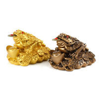 Feng Shui Money Lucky Fortune Chinese For Frog Toad Coin Ornaments Lucky Gift Tg