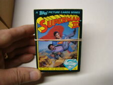 1983 Superman III Movie Trading Cards Complete Set 1-99 Christopher Reeve