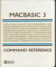 Macintosh: Macbasic 3 Command Reference - 1984