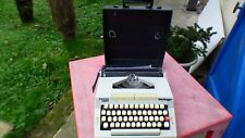 Machine IN Typewriter Scheidegger Messa 3002 Portable Vintage Typewriter