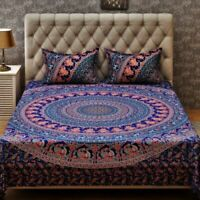 Mandala Quilt Duvet Cover Set Indian Bedding Set Queen King Size Bed Doona Cover