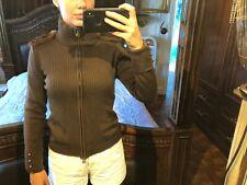 ESCADA Military Cardigan Sweater Sz 34