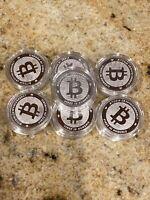 """Bitcoin Silver Coin 2020 """"Bitcoin"""" 1 oz Silver BU"""