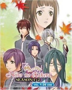 Hiiro no Kakera Season 1-2 Vol.1-26End Scarlet Fragment English Sub