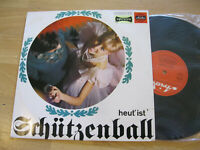 """10"""" LP Heut ' ist Schützenball Schützengilde Gut Schuß  Vinyl Ariola HI-FI 33120"""